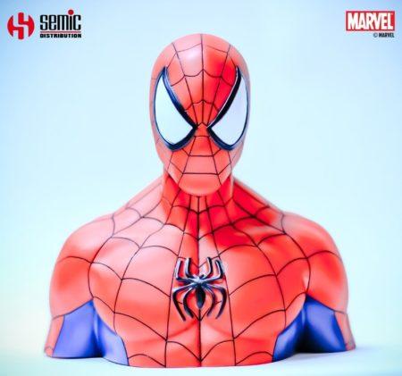 Marvel Comics Coin Bank Spider-Man 22 cm
