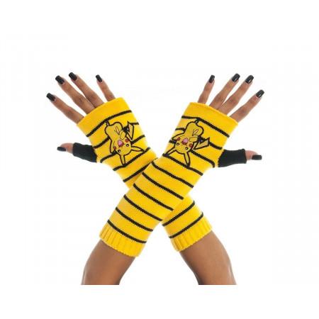 Pokemon Gloves (Fingerless) Pikachu-0