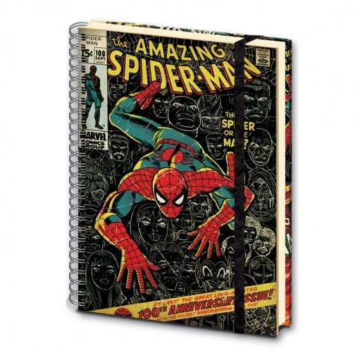 Marvel Retro Notebook Amazing Spider-Man A4-0