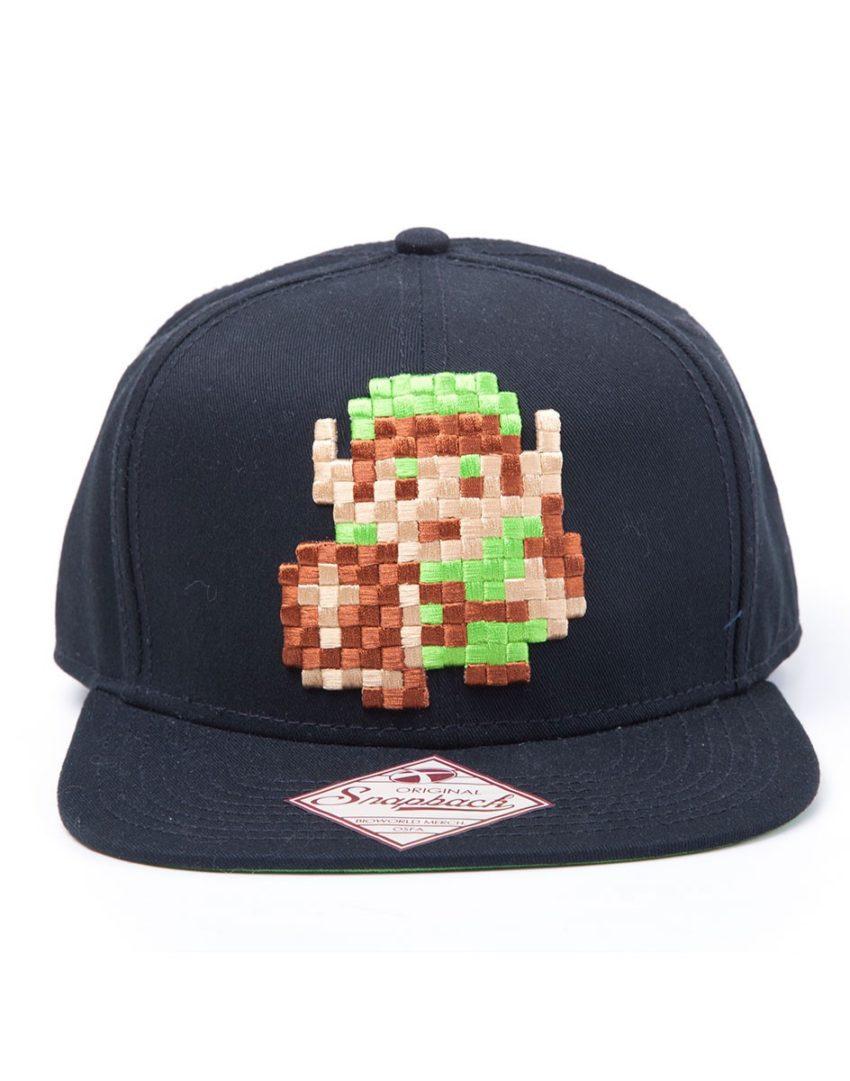 The Legend of Zelda Link 8 Bit Retro Snapback Cap