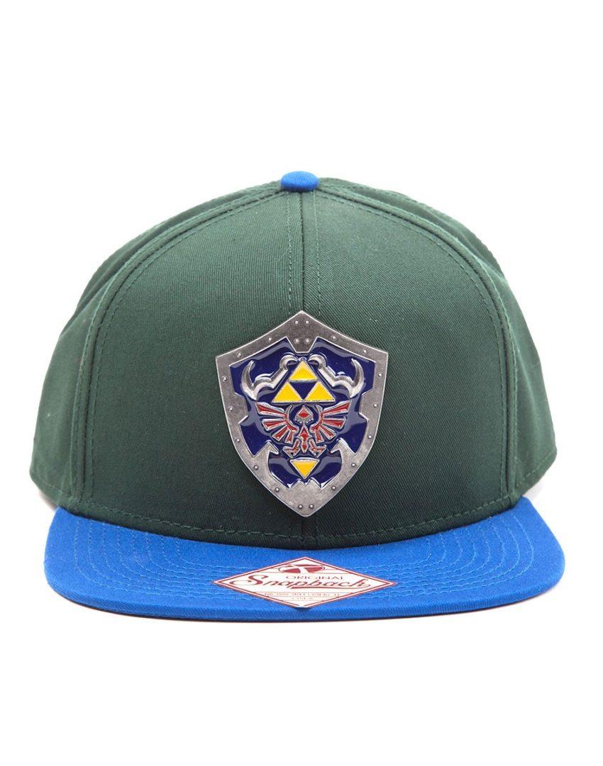 The Legend of Zelda Metal Shield Snapback Cap