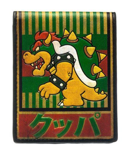Nintendo Wallet Bowser Kanji