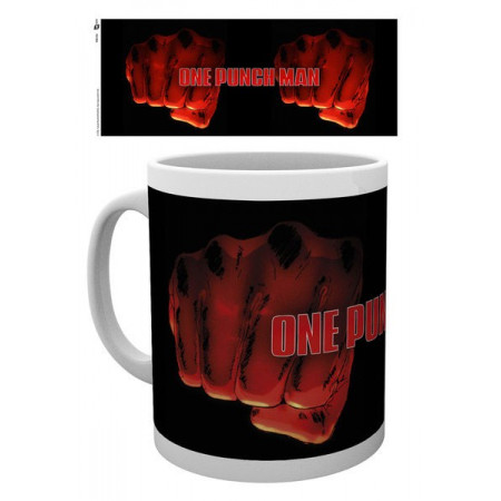 One Punch Man Mug (Fist Punch Design)