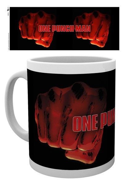 One Punch Man Mug (Fist Punch Design)
