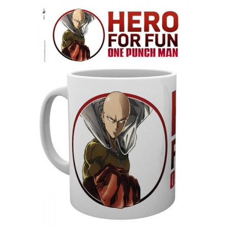 One Punch Man Mug Saitama (Hero for Fun Design)