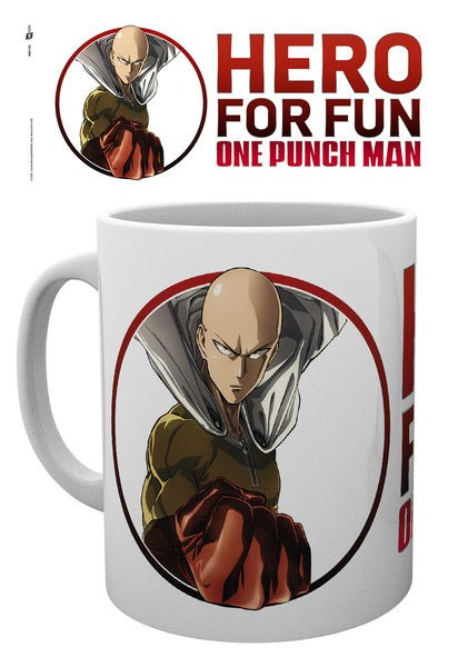 One Punch Man Mug Saitama (Hero for Fun Design)