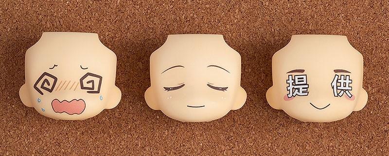 Nendoroid More Decorative Parts for Nendoroid Figures Face Swap 02
