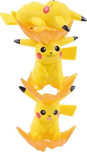 Ensky Pikachu Stackable NOS-26 Nosechara Mini Figures-0