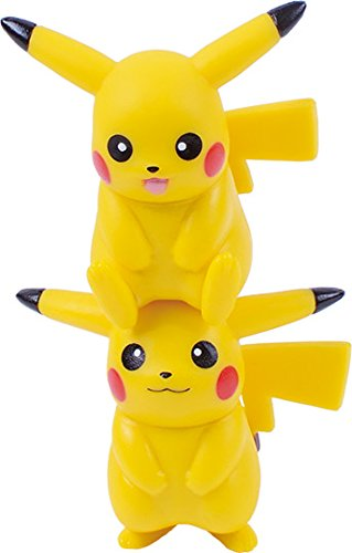 Ensky Pikachu Stackable NOS-26 Nosechara Mini Figures-4584