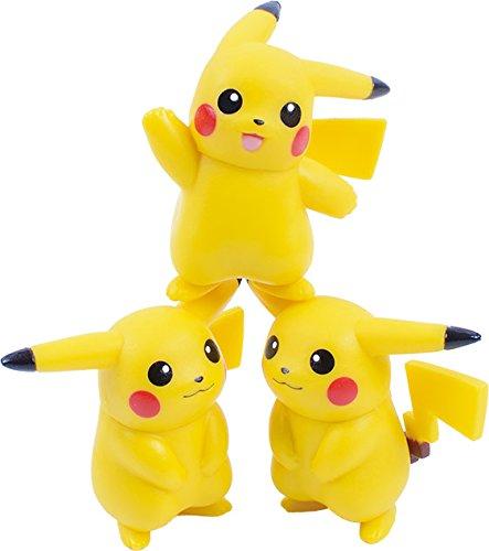 Ensky Pikachu Stackable NOS-26 Nosechara Mini Figures-4583