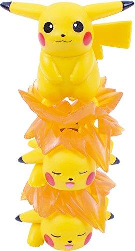 Ensky Pikachu Stackable NOS-26 Nosechara Mini Figures-4587