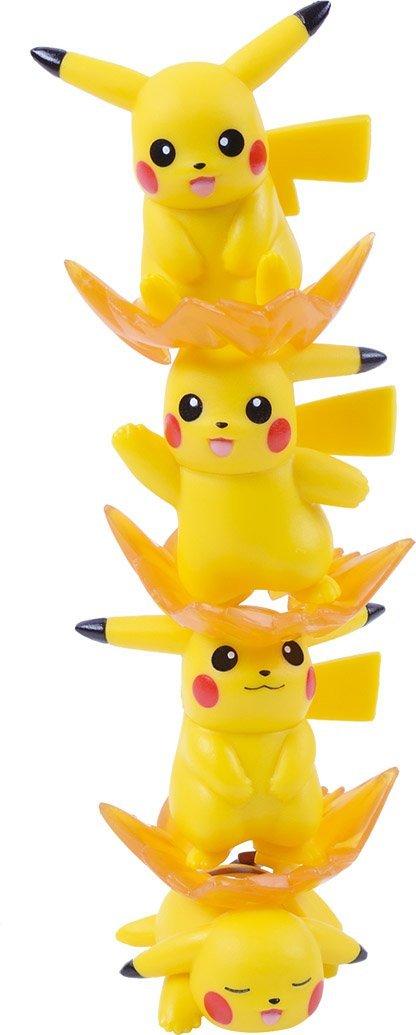 Ensky Pikachu Stackable NOS-26 Nosechara Mini Figures-4586