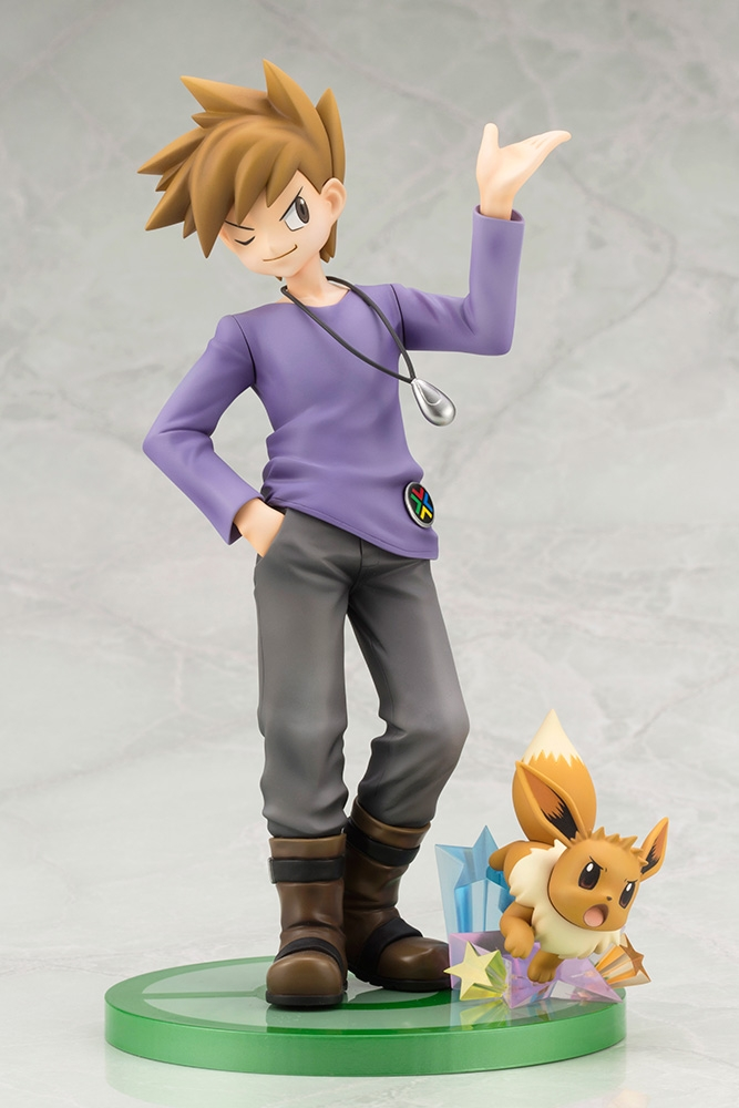 ARTFX J Pokemon Series 1/8 Scale Pre-Painted Figure Green with Eevee-7450