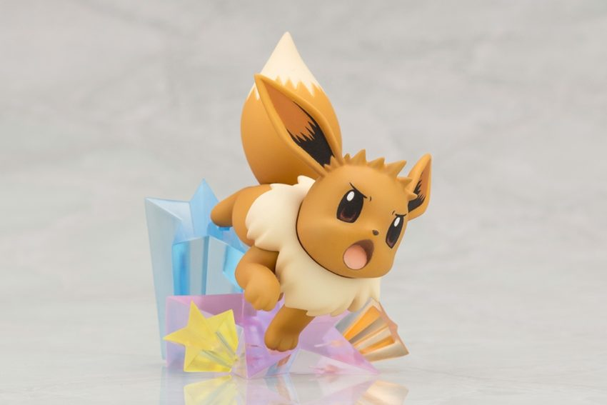 ARTFX J Pokemon Series 1/8 Scale Pre-Painted Figure Green with Eevee-7455