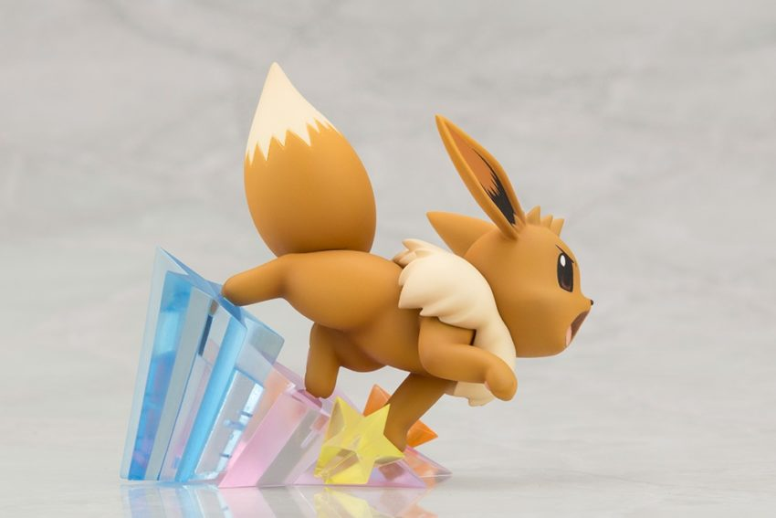 ARTFX J Pokemon Series 1/8 Scale Pre-Painted Figure Green with Eevee-7456