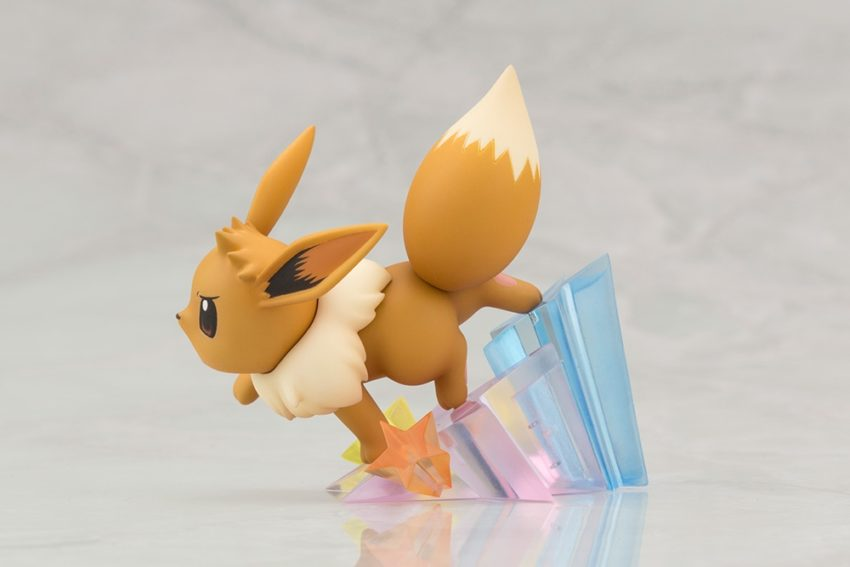 ARTFX J Pokemon Series 1/8 Scale Pre-Painted Figure Green with Eevee-7459