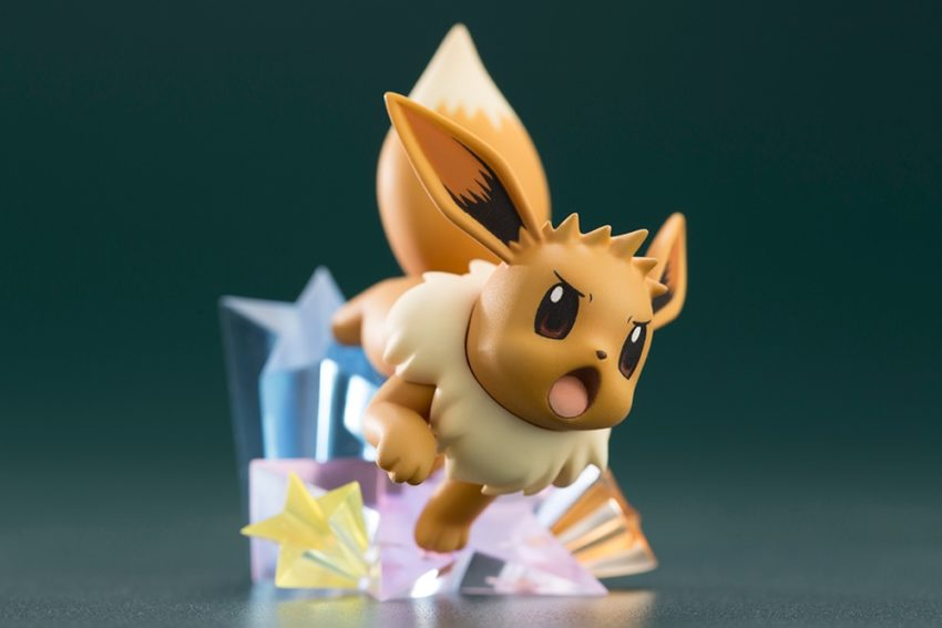 ARTFX J Pokemon Series 1/8 Scale Pre-Painted Figure Green with Eevee-7460