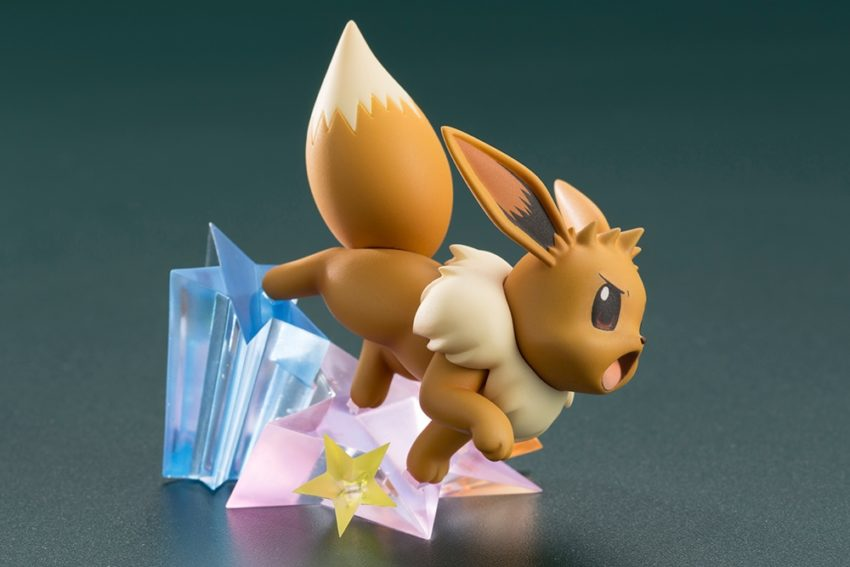 ARTFX J Pokemon Series 1/8 Scale Pre-Painted Figure Green with Eevee-7461