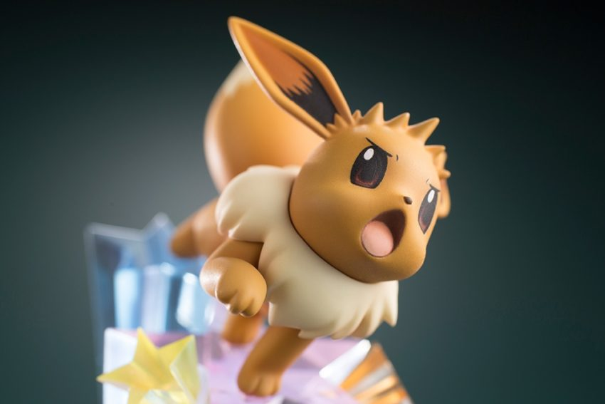 ARTFX J Pokemon Series 1/8 Scale Pre-Painted Figure Green with Eevee-7462