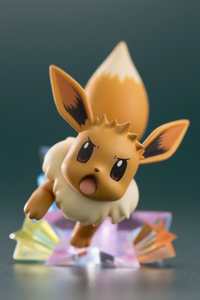ARTFX J Pokemon Series 1/8 Scale Pre-Painted Figure Green with Eevee-7463
