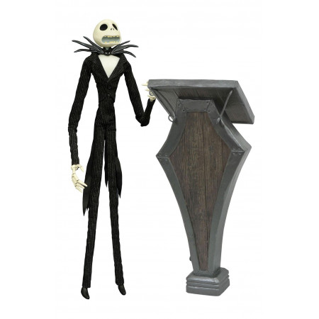 Nightmare before Christmas Deluxe Coffin Doll Podium Jack 36 cm-0