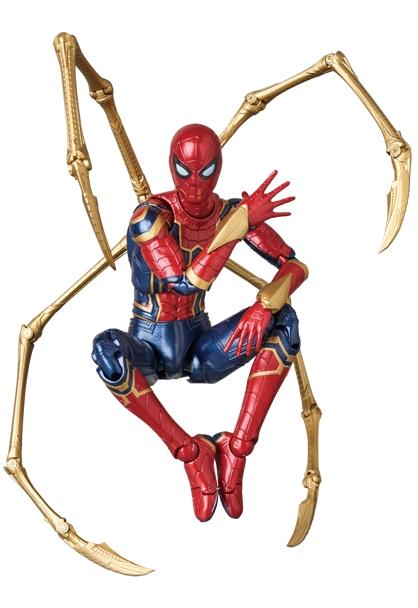 Avengers Infinity War MAFEX Iron Spider-0