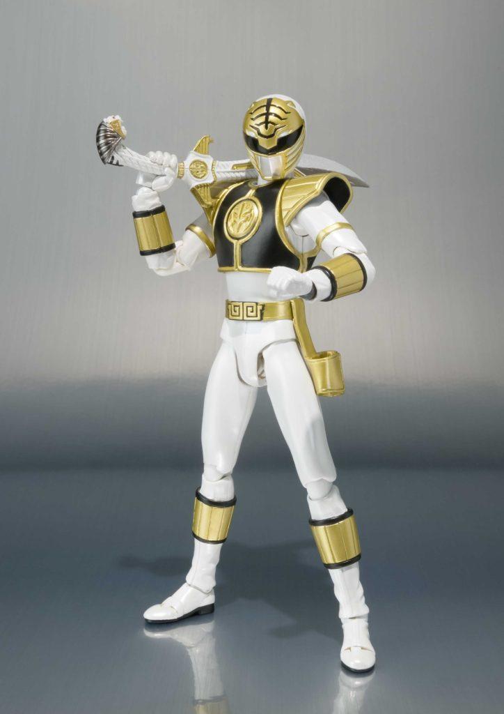 Mighty Morphin Power Rangers White Ranger S.H.Figuarts-0