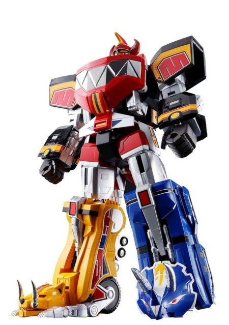 Mighty Morphin Power Rangers Chogokin Diecast 5-Pack GX-72 Megazord-0