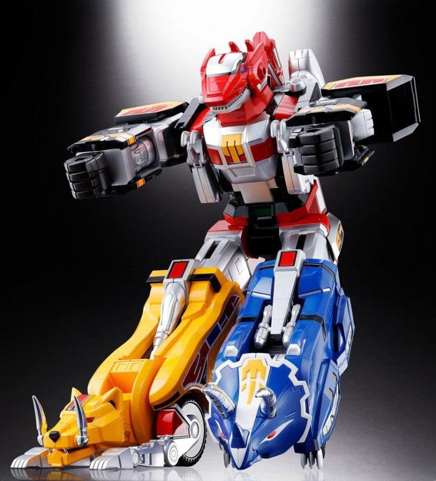 Mighty Morphin Power Rangers Chogokin Diecast 5-Pack GX-72 Megazord-8535
