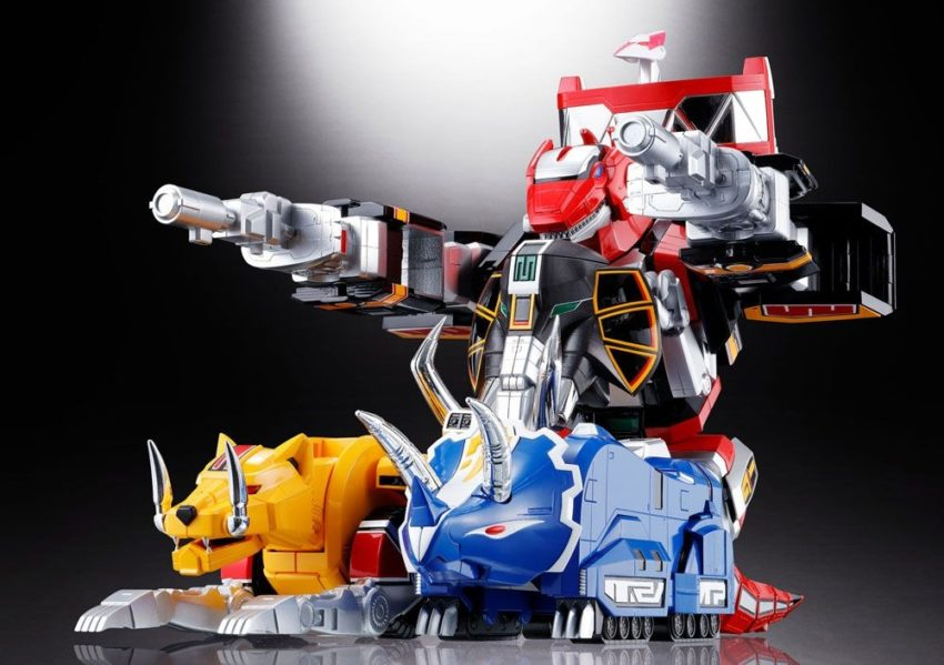 Mighty Morphin Power Rangers Chogokin Diecast 5-Pack GX-72 Megazord-8536