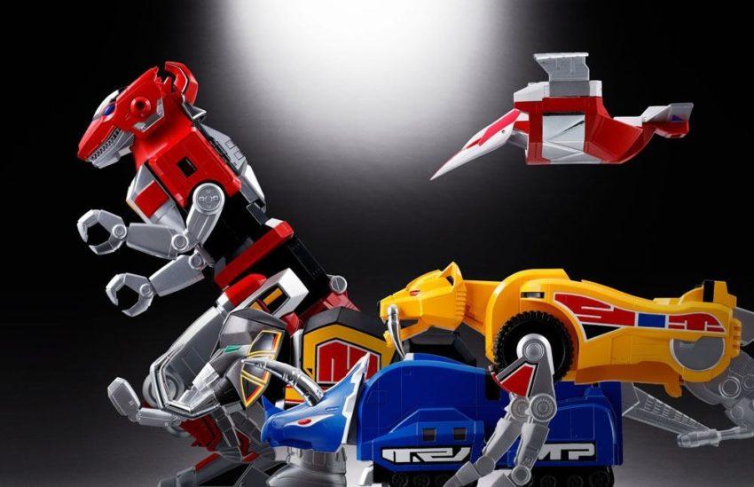 Mighty Morphin Power Rangers Chogokin Diecast 5-Pack GX-72 Megazord-8537