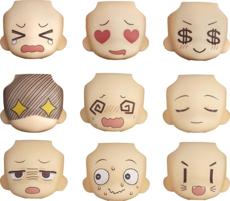 Nendoroid More Decorative Parts for Nendoroid Figures Face Swap 01 & 02 Selection-0