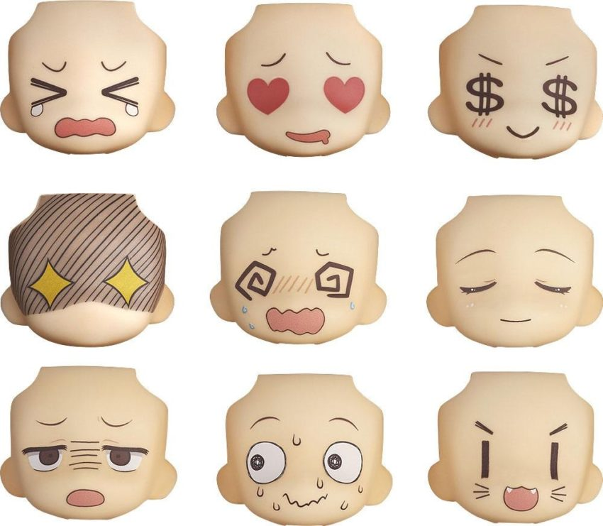 Nendoroid More Decorative Parts for Nendoroid Figures Face Swap 01 & 02 Selection-0