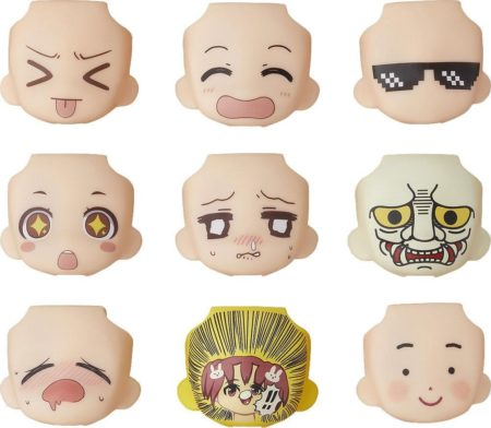 Nendoroid More Decorative Parts for Nendoroid Figures Face Swap 03-0
