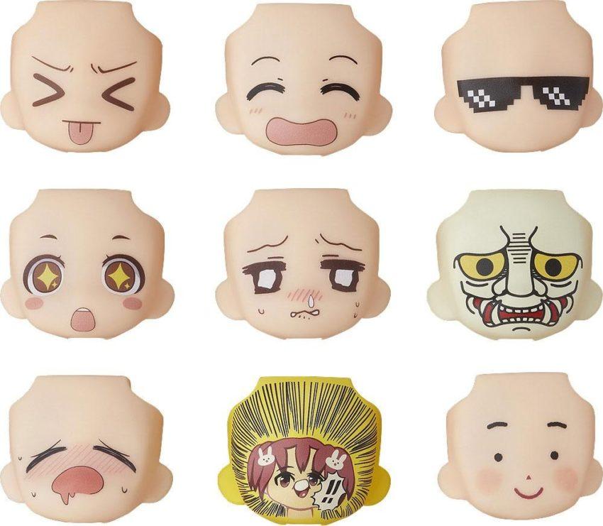 Nendoroid More Decorative Parts for Nendoroid Figures Face Swap 03-0