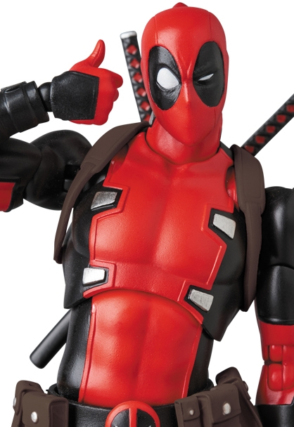 Marvel MAFEX No.082 Deadpool Gurihiru Art Ver.-0