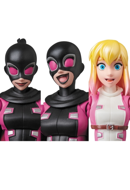 Marvel MAFEX No.083 Evil Gwenpool-9972