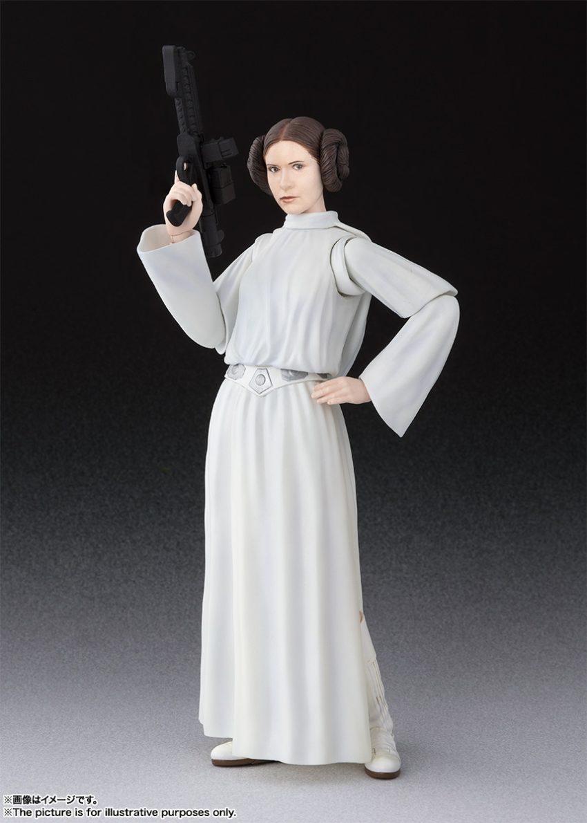 Star Wars A New Hope S.H. Figuarts Princess Leia Organa-0