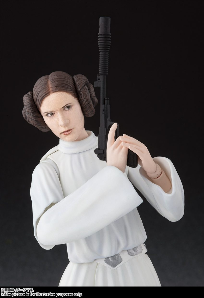 Star Wars A New Hope S.H. Figuarts Princess Leia Organa-9601