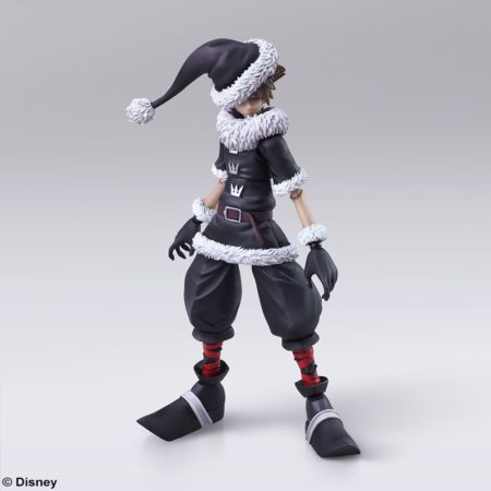 BRING ARTS KINGDOM HEARTS II Sora Christmas Town Ver. Action Figure-0
