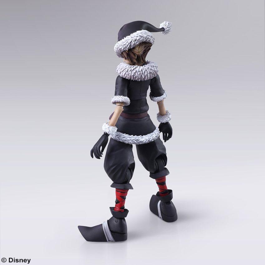 BRING ARTS KINGDOM HEARTS II Sora Christmas Town Ver. Action Figure-10353