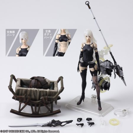 BRING ARTS NieR:Automata YoRHa Model A No. 2 Action Figure-0