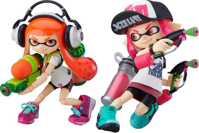Splatoon / Splatoon 2 Figma Splatoon Girl-0