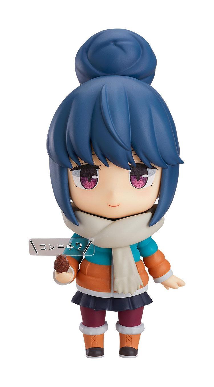 Laid-Back Camp Nendoroid Rin Shima DX Ver.-0
