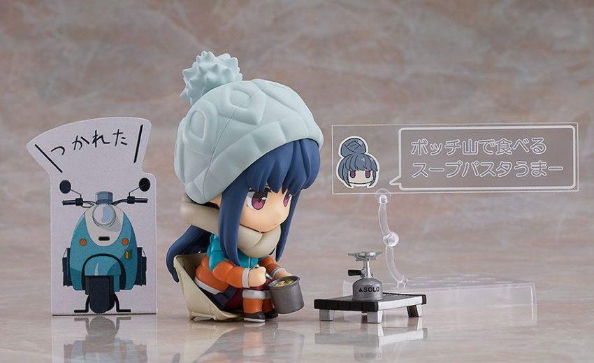 Laid-Back Camp Nendoroid Rin Shima DX Ver.-10383