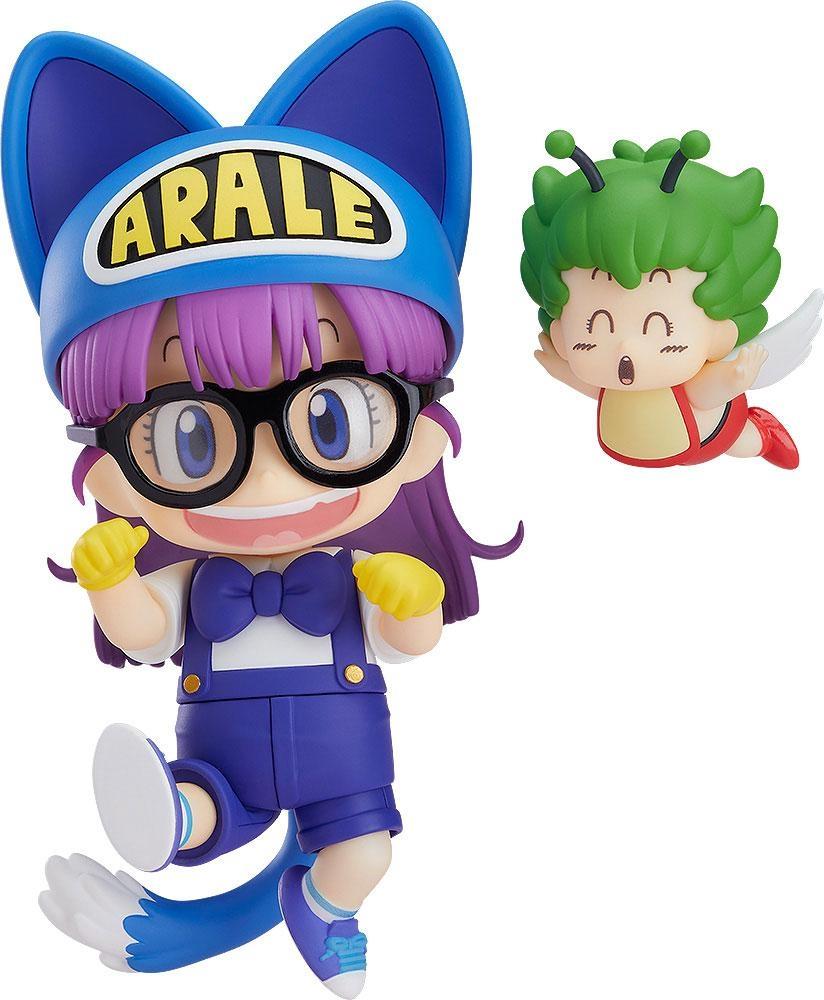 Dr. Slump Nendoroid Arale Norimaki Cat Ears Ver. & Gatchan-0