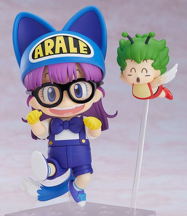 Dr. Slump Nendoroid Arale Norimaki Cat Ears Ver. & Gatchan-10617