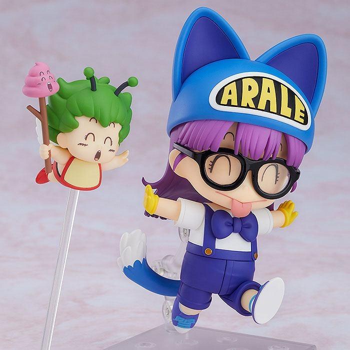 Dr. Slump Nendoroid Arale Norimaki Cat Ears Ver. & Gatchan-10615