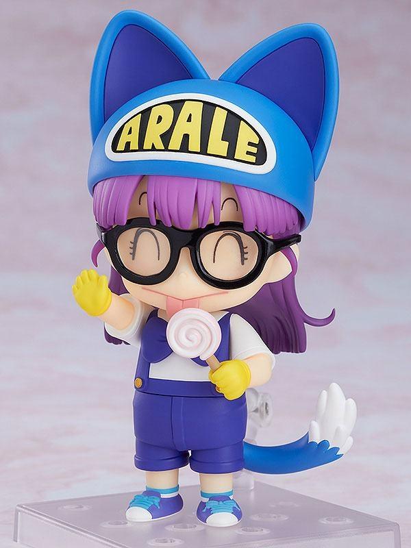Dr. Slump Nendoroid Arale Norimaki Cat Ears Ver. & Gatchan-10618