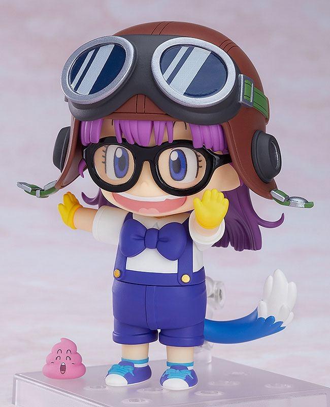 Dr. Slump Nendoroid Arale Norimaki Cat Ears Ver. & Gatchan-10620